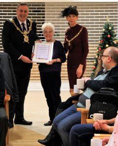 Helen Swan Awarded Long Service Certificate